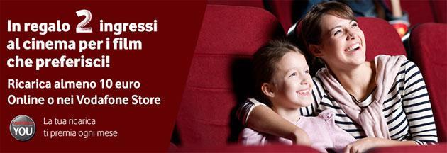 Vodafone YOU Febbraio 2015: Buono Cinema premio del mese