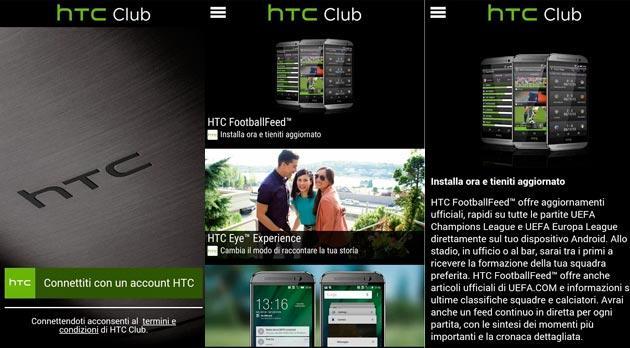 HTC Club arriva in Italia, app esclusiva dedicata ad Htc
