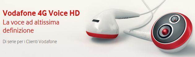 Vodafone dopo Voice HD lancia 4G Voice e Call+