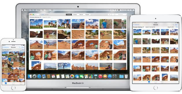 Apple, su OS X 10.10.3 la nuova app Photos rimpiazza iPhoto