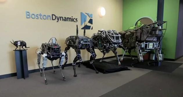 Spot, il robot a quattro zampe Google