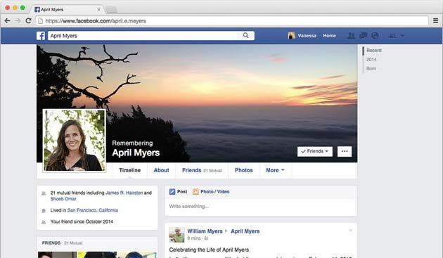 Facebook fa scegliere a chi rimane il profilo quando si muore