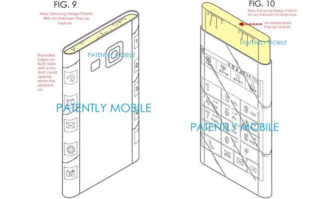 Samsung Galaxy S6 Edge con display curvo fino al lato posteriore, forse