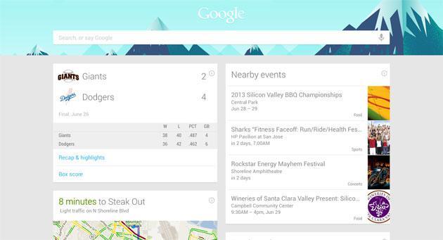 Google Now per Android ora supporta 40 app di terze parti