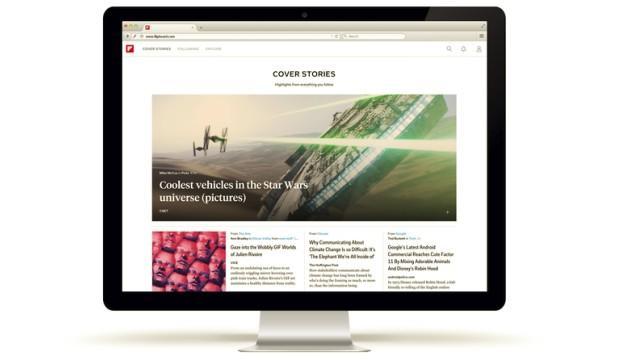 Flipboard disponibile sul Web, ecco come usarlo