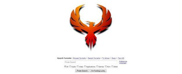 Pirate Bay torna online con nuovo logo