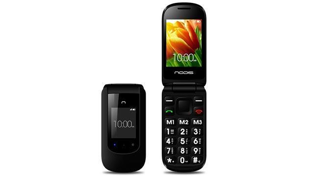Nodis SN-08, telefono DualSIM con doppio display e tasti grandi da 79 Euro
