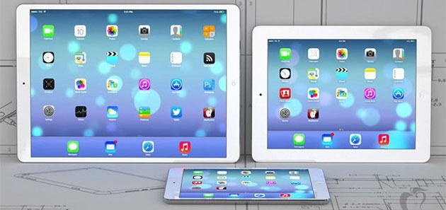 Apple iPad Plus con display 12,9 pollici e spessore 7mm