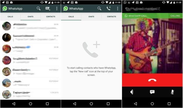WhatsApp: Chiamate Vocali disponibili su Android, iOS e Windows Phone