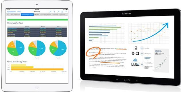 Tablet: Samsung Galaxy supera Apple iPad in alcuni mercati