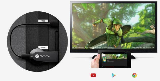 Chromecast ora si controlla col telecomando della TV
