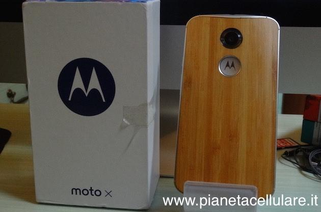 Motorola Moto X 2014 White Bamboo, video recensione e video test