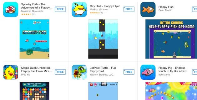 Flappy Birds: Apple e Google respingono app con Flappy nel titolo