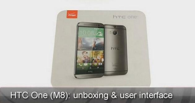 HTC One M8: video unboxing e prime impressioni