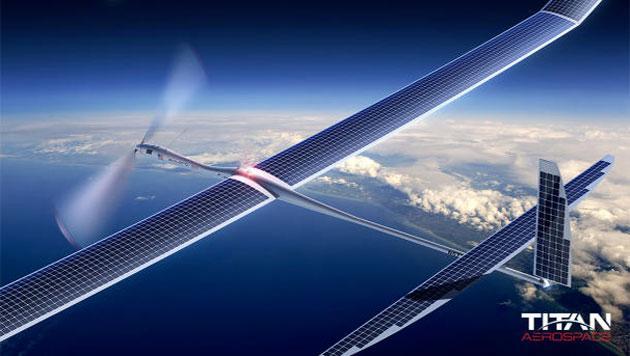 Google SkyBender, droni solari per diffondere internet 5G nel mondo
