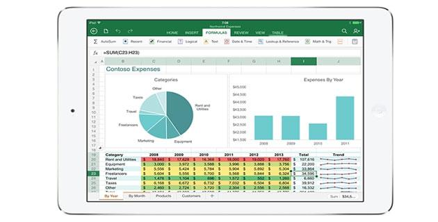 Microsoft Office per iPad ora disponibile in App Store
