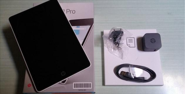 HP Slate Pro 8, il nostro unboxing