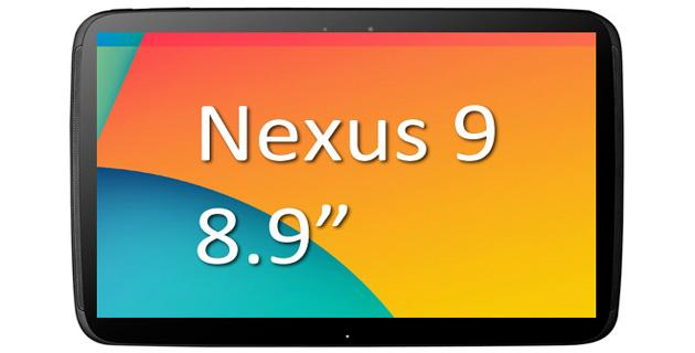 Google lavora su Nexus 9, tablet con display da 8,9 pollici