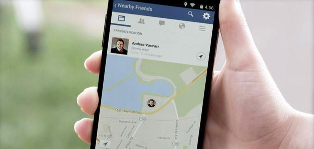 Facebook lancia Nearby Friends grazie a Glance