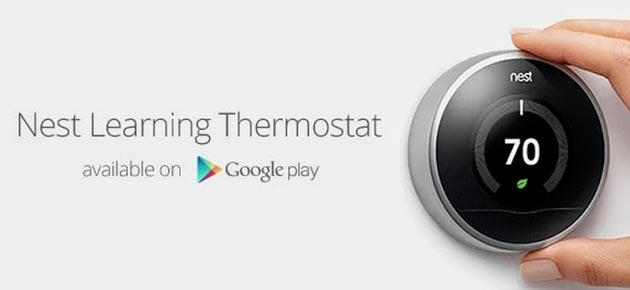Nest, il termostato smart di Google arriva nel Play Store ma non in Italia