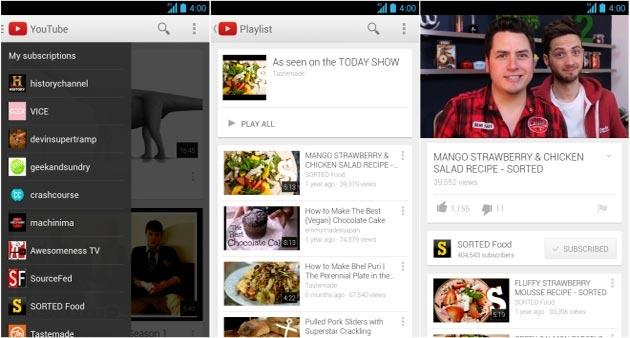 Chromecast: YouTube per Android supporta i video Live