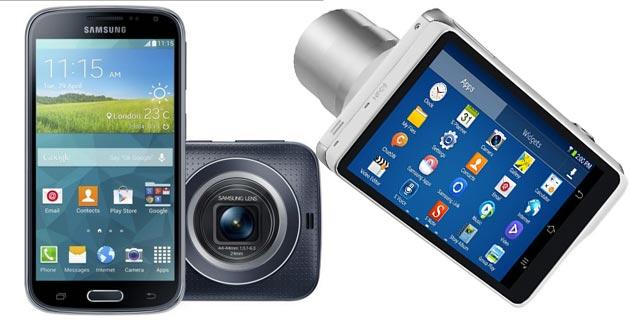 Confronto: Samsung Galaxy K Zoom vs Galaxy Camera 2