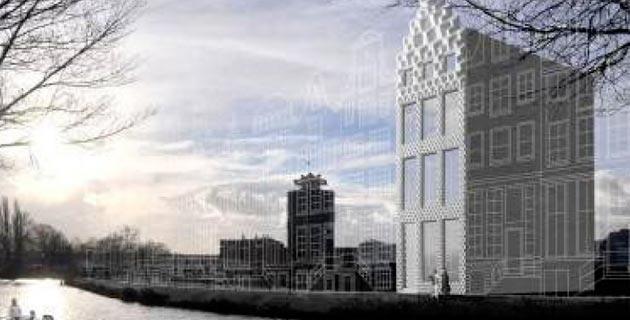 3d ad amsterdam le prime case stampate in 3d for Stanze ad amsterdam