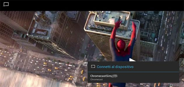 Come trasmettere video da Android alla Tv con Chromecast