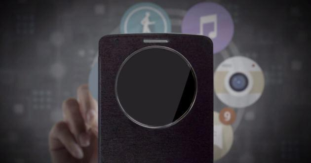 LG G3, annunciata la cover ufficiale QuickCircle [VIDEO]