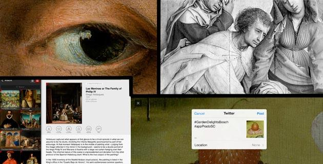 iPhone e iPad al Museo del Prado con Second Canvas