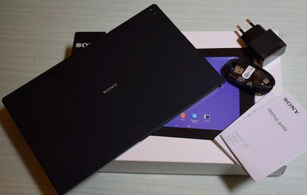 Sony Xperia Z2 Tablet, il nostro unboxing