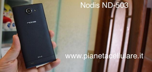 Nodis ND-503 Dual Sim, Android, Quad Core: unboxing completo