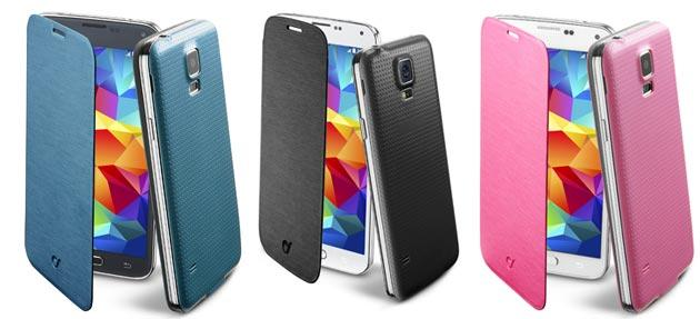 Galaxy S5, nuova cover Flip Book da Cellularline