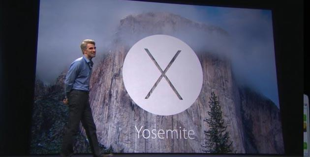 Apple annuncia OS X Yosemite al WWDC14, integrazione iPhone Mac riuscita
