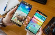 Foto LG G3 vs Samsung Galaxy Note 3 e Samsung Galaxy S5
