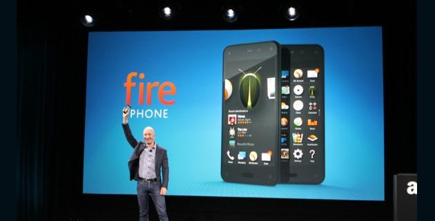 Amazon presenta Fire Phone, smartphone con interfaccia 3D