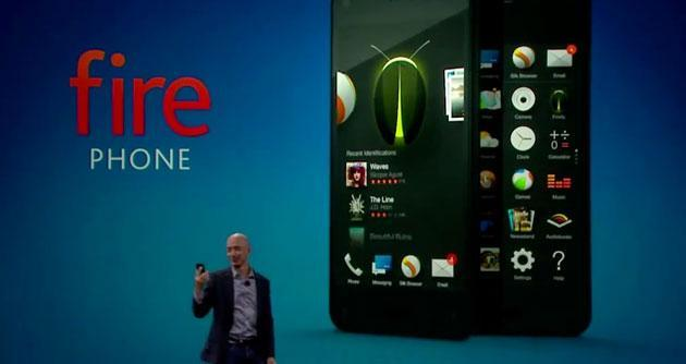 Fire Phone di Amazon: foto ufficiali dello smartphone 3D