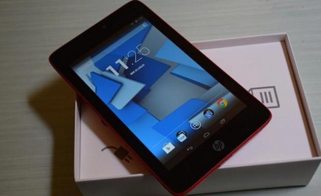 HP Slate 7 HD, il nostro unboxing