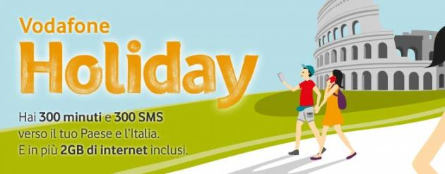 Vodafone Holiday, l'offerta Tutto Incluso per i turisti in Italia
