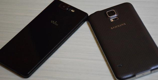 Samsung Galaxy S5 vs Wiko Highway Octa Core Android 4.4