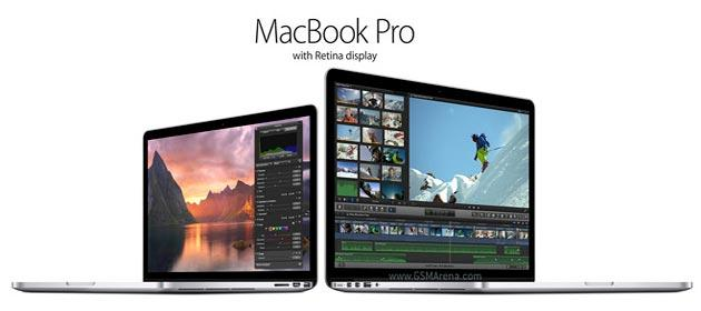 Apple aggiorna la serie MacBook Pro con display Retina, di poco