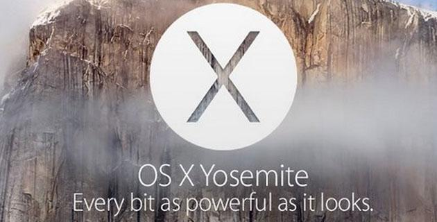 Apple OS X Yosemite Beta 3: ecco tutte le novita'