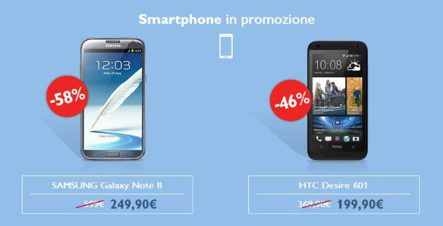 Outlet TIM Luglio 2014, Galaxy Note 2 in offerta a 249,90 euro