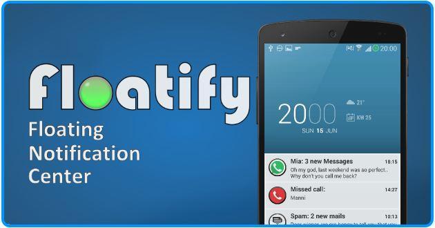 Android L in Autunno possono essere gi\u00e0 testate adesso con Floatify