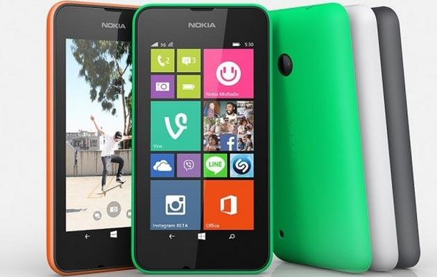 Nokia Lumia 530 ufficiale: Quad Core, Windows 8.1 e 4 pollici a 99 euro