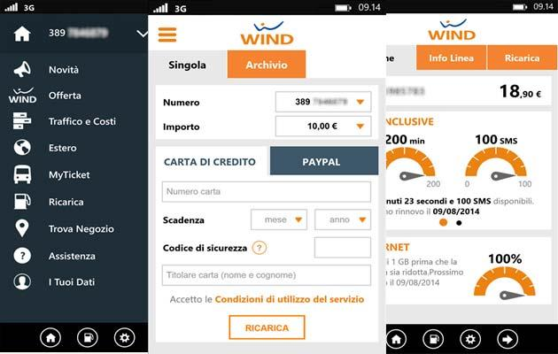 Wind: app MyWind ora disponibile per Windows Phone
