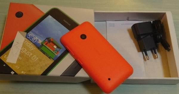 Nokia Lumia 530: unboxing e considerazioni del Windows Phone economico
