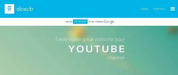 Google acquisisce Directr specializzata in video editing