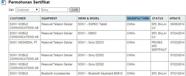 Sony Xperia Tablet Z3 avvistato in Indonesia, atteso all'IFA 2014