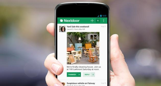 Anti-Facebook: 1 quartiere su 4 in America usa il social network privato NextDoor